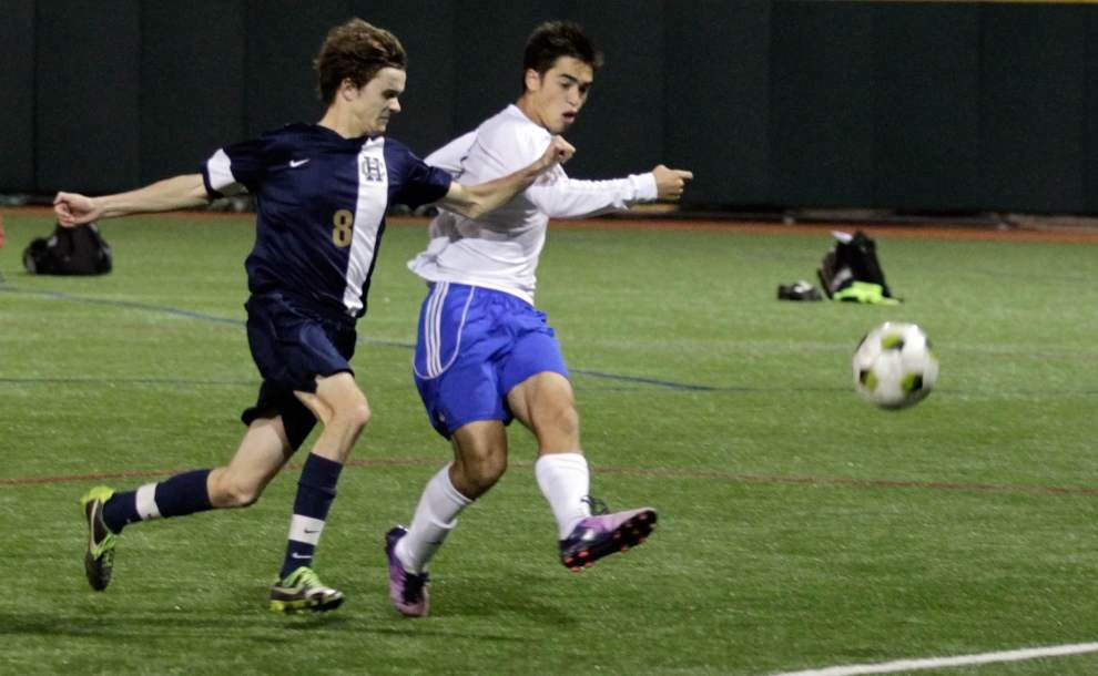 No surprise: St. Paul's top-seeded in boys soccer playoffs _lowres