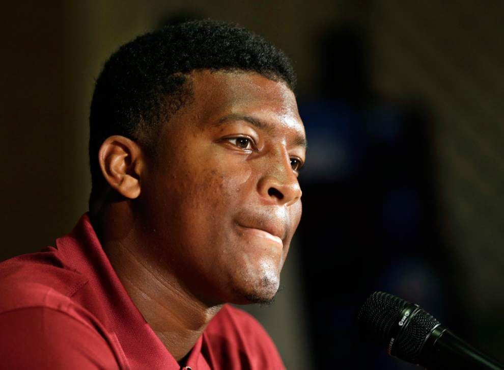 Florida State suspends Jameis Winston for one half _lowres