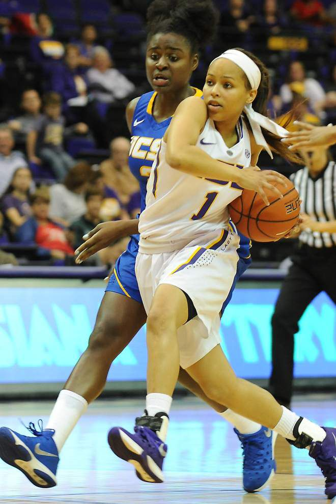 PHOTOS: LSU UC-Santa Barbara Women's basketball _lowres