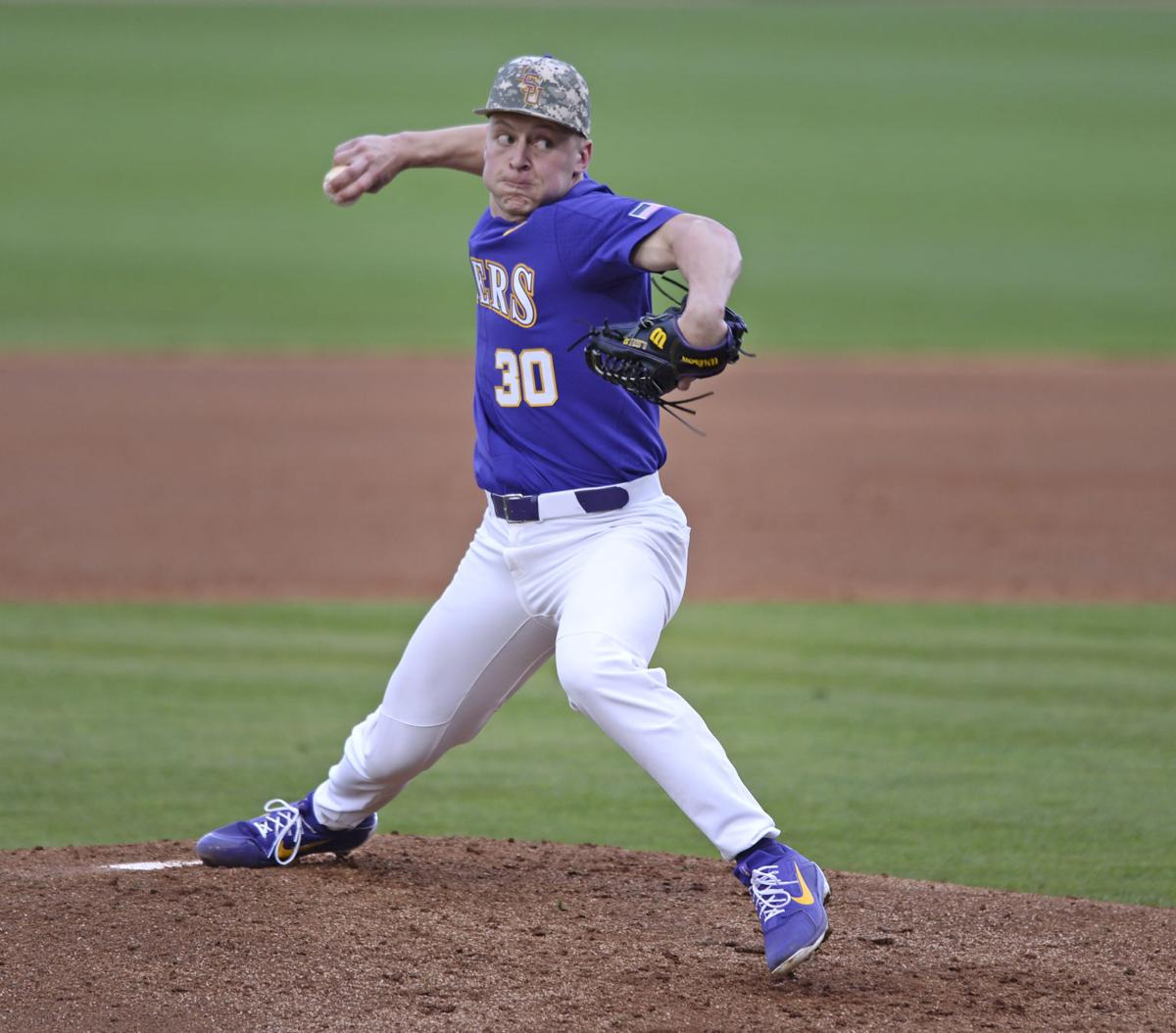 huge discount 8ce92 de766 Photos: LSU Baseball can't overcome Notre Dame's hot third ...