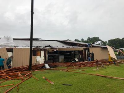 Report: Possible tornado rips roof off Bear Creek Western Store in St. Helena Parish