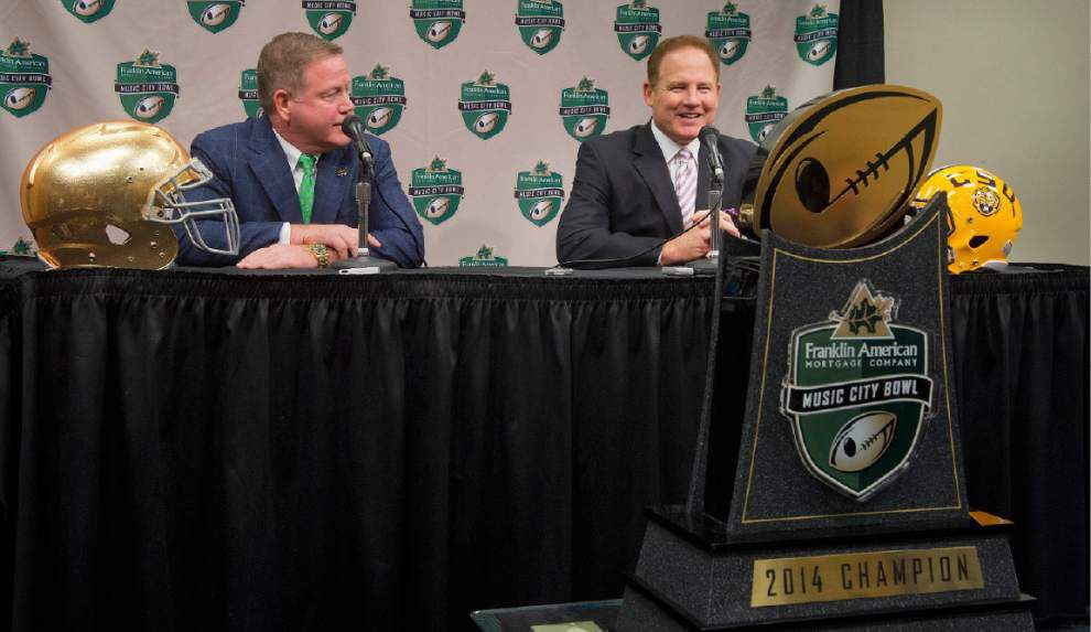 Music City Bowl: What will happen when LSU has the ball? And what will happen when Notre Dame has the ball? _lowres