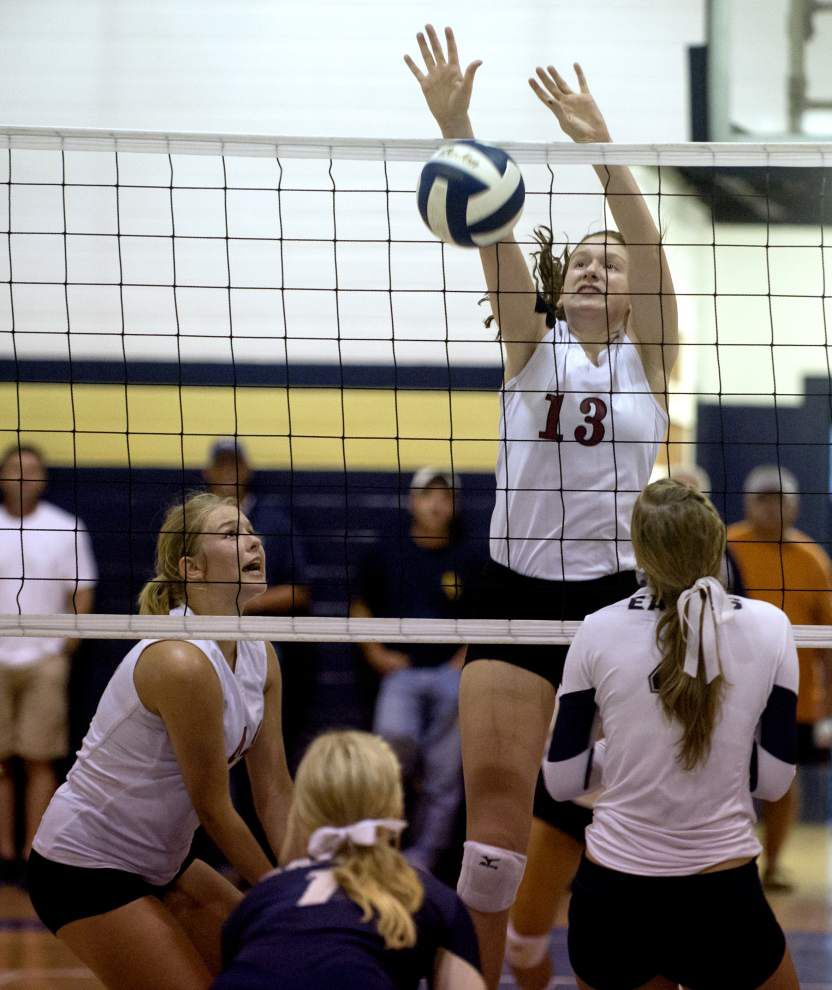 Dunham edges St. John in battle of volleyball heavyweights _lowres