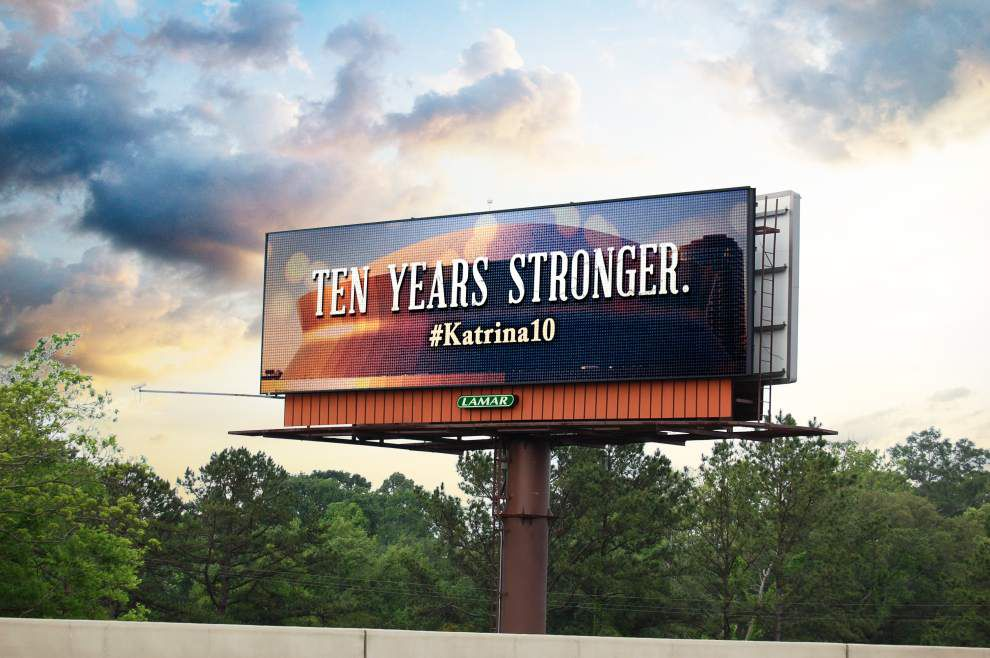 Lamar Advertising commemorating Katrina anniversary on 541 digital billboards _lowres