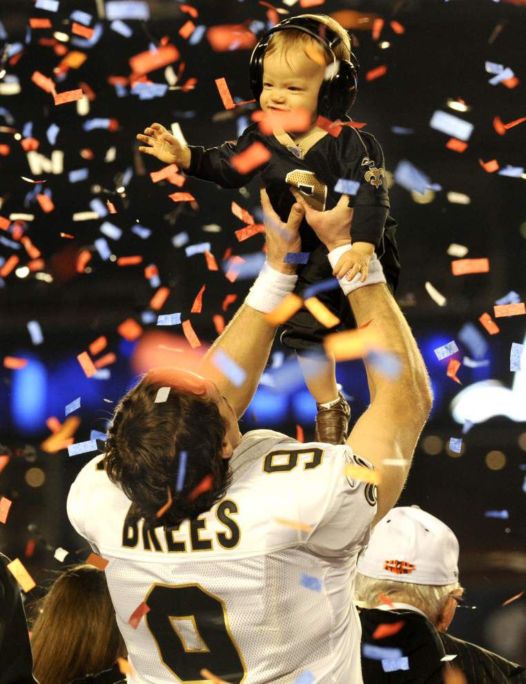 Rod Walker: For Drew Brees, being a father of four is as good as it gets _lowres