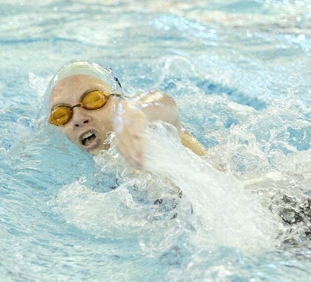 Ascension Episcopal girls finish third, Notre Dame's Erin Trahan honored at state swim meet _lowres