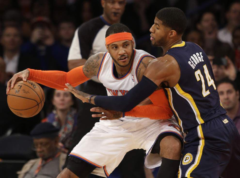 Sources: Knicks' Carmelo Anthony headed for free agency _lowres