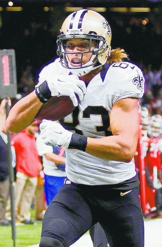 Saints' Willie Snead has used tactical route-running to get off to a fast start _lowres