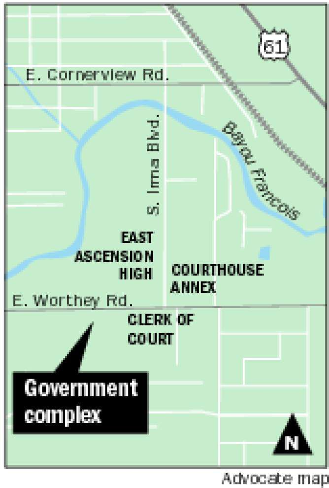 Work begins on Ascension Parish government complex _lowres