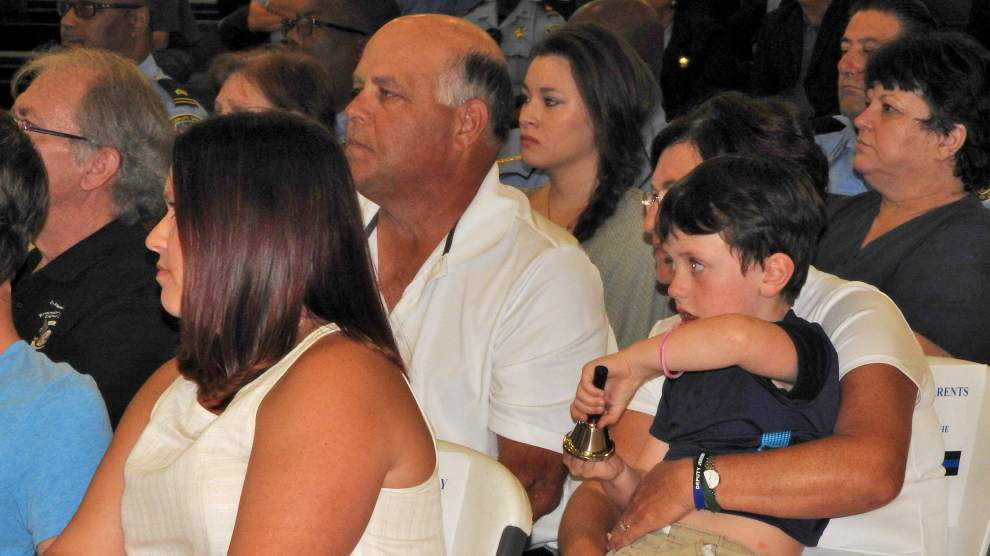St. John the Baptist Parish honors officers who died on duty _lowres