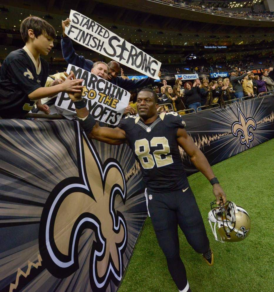 Saints' Watson, former LSU player Clark, two of three nominated for NFLPA president _lowres
