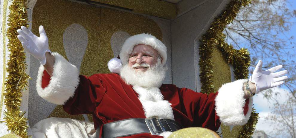Photos: A jolly good time rolls through downtown Lafayette during annual Christmas parade _lowres