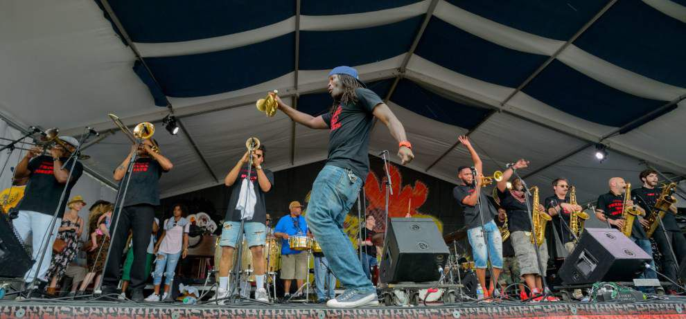 Photos: Severe weather cuts short Saturday at Jazz Fest _lowres