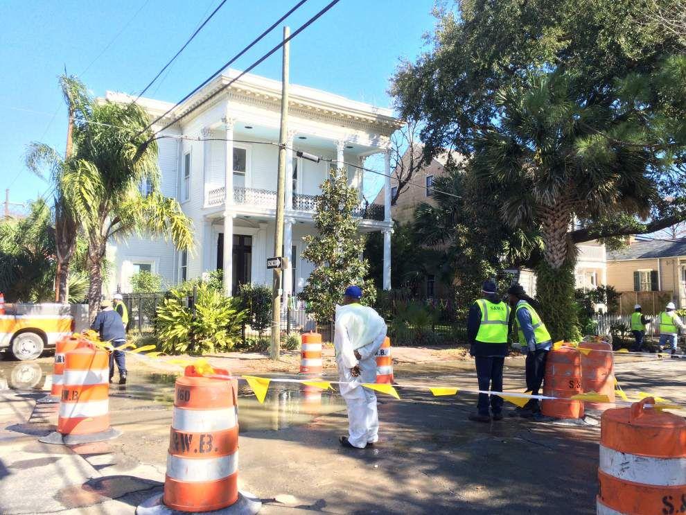 Officials: Water pressure restored after major pipe break near Bayou St. John _lowres