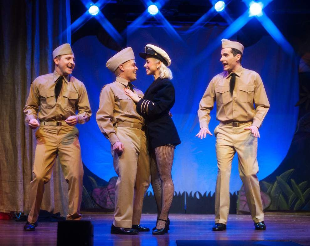 Stage Door Canteen's 'Andrews Brothers' a polished crowd-pleaser _lowres