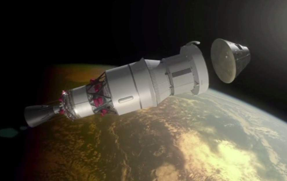 NASA makes progress on world's largest rocket _lowres