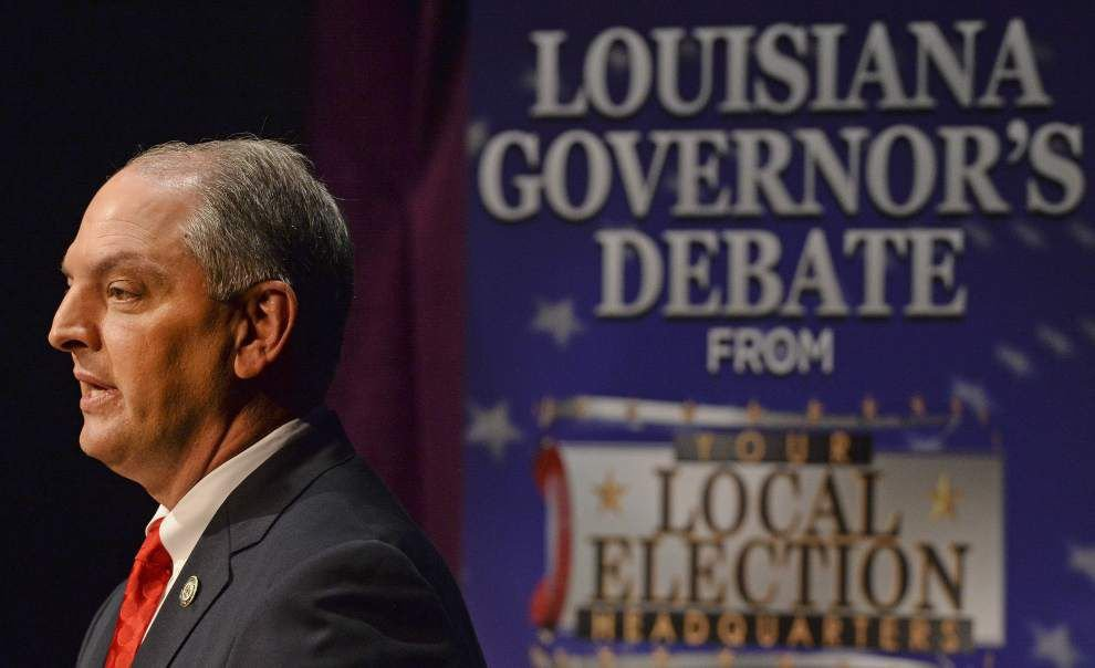 Three candidates for Louisiana governor tackle budget crisis in debate, with subtle differences in opinion _lowres