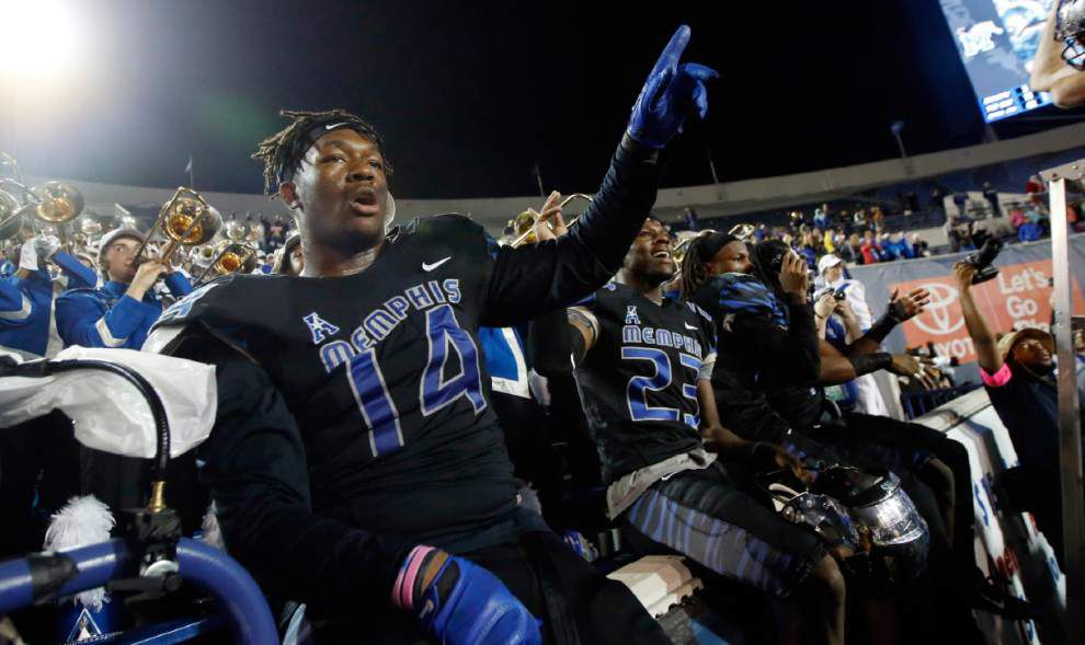Memphis 41, Tulane 13: Guerry Smith's three and out _lowres