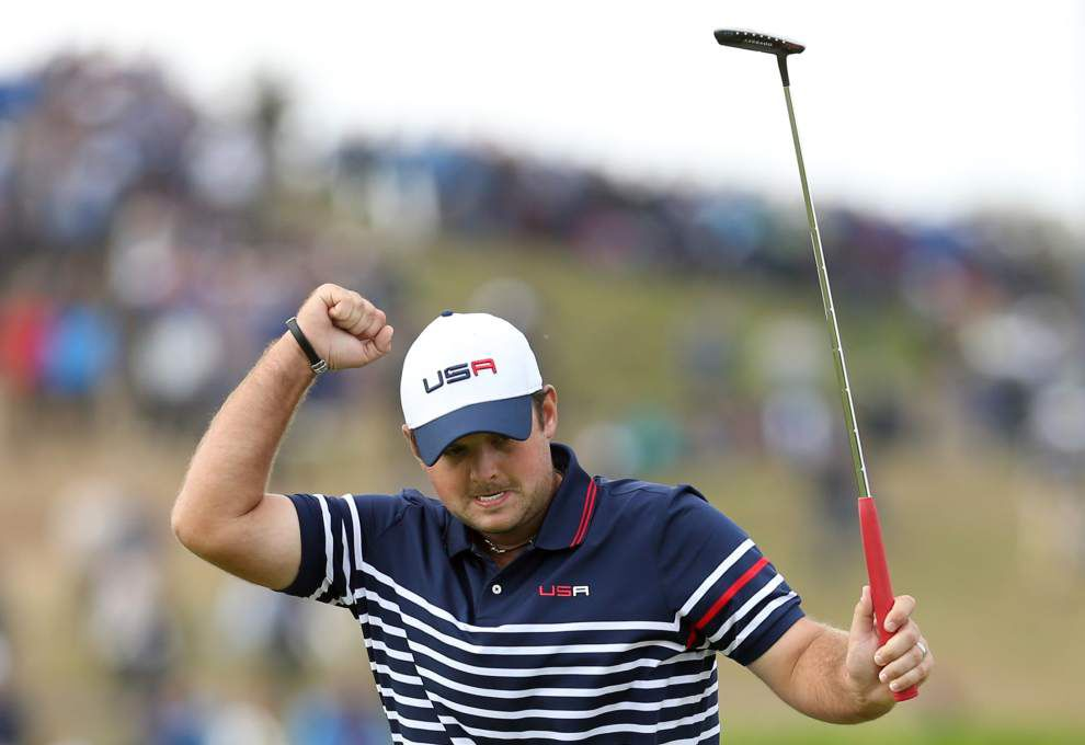 Despite Patrick Reed's hot weekend, Europe cruises to another Ryder Cup crown _lowres