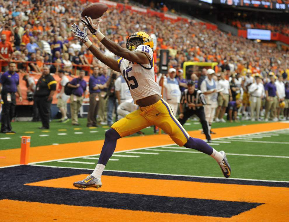Photos: LSU running back Leonard Fournette, Tigers run through Syracuse in the Carrier Dome _lowres