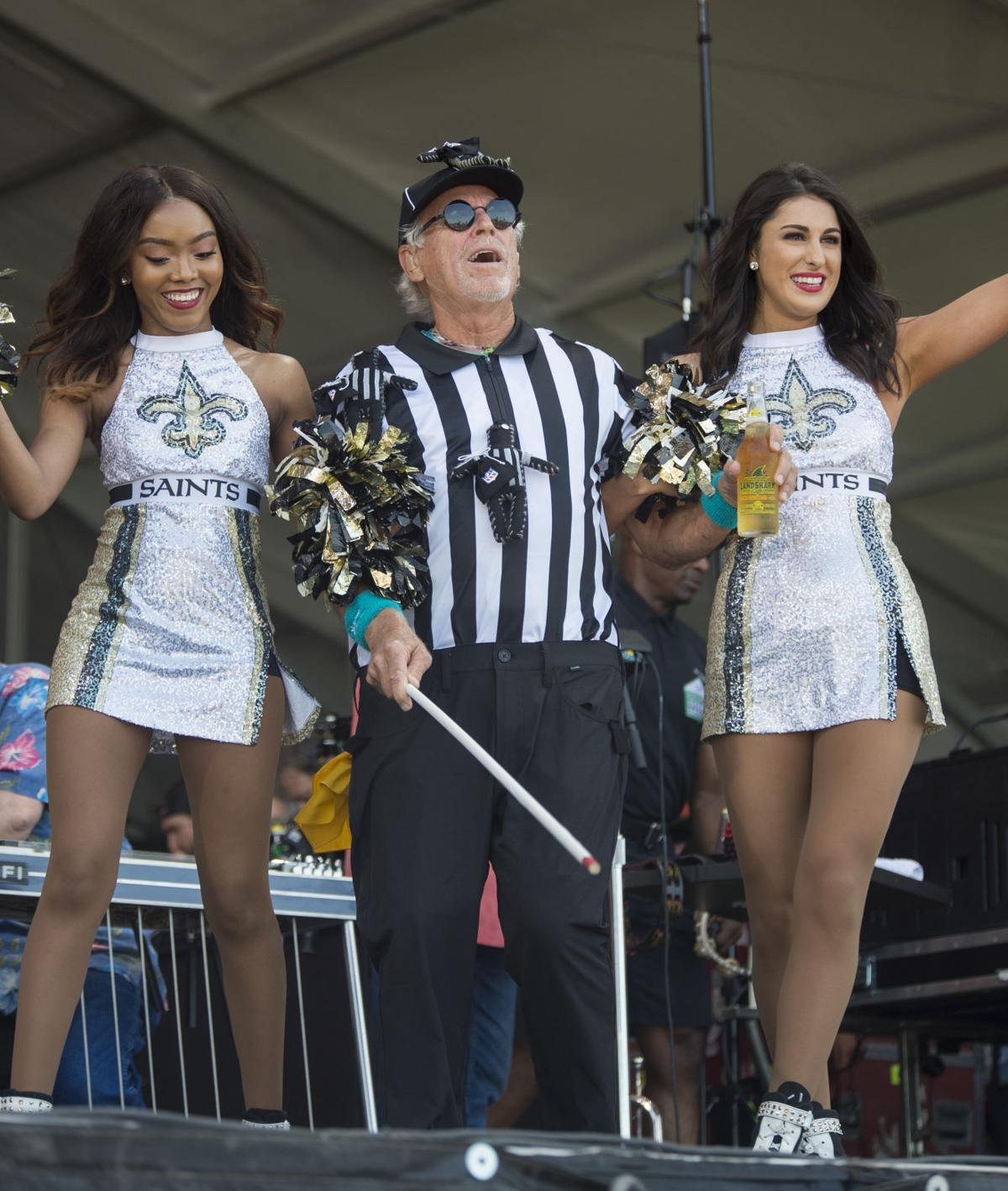 Watch: At Jazz Fest, Jimmy Buffett Trades Hawaiian Shirt