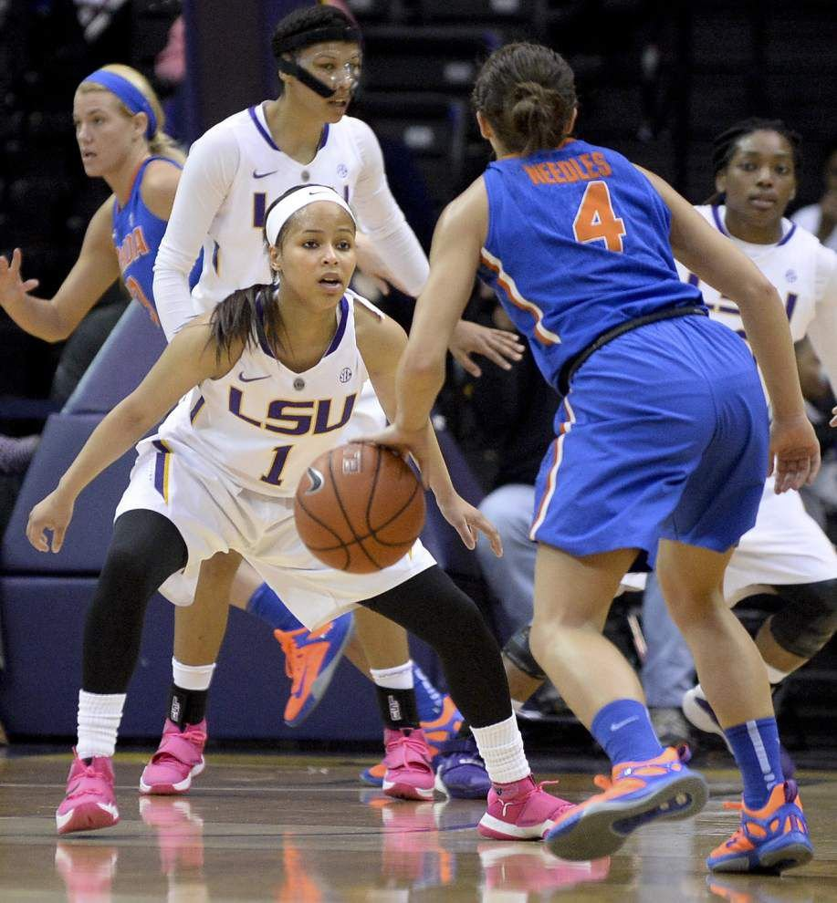 Lady Tigers' Jenna Deemer won't play in the SEC tournament, coach Nikki Fargas says _lowres