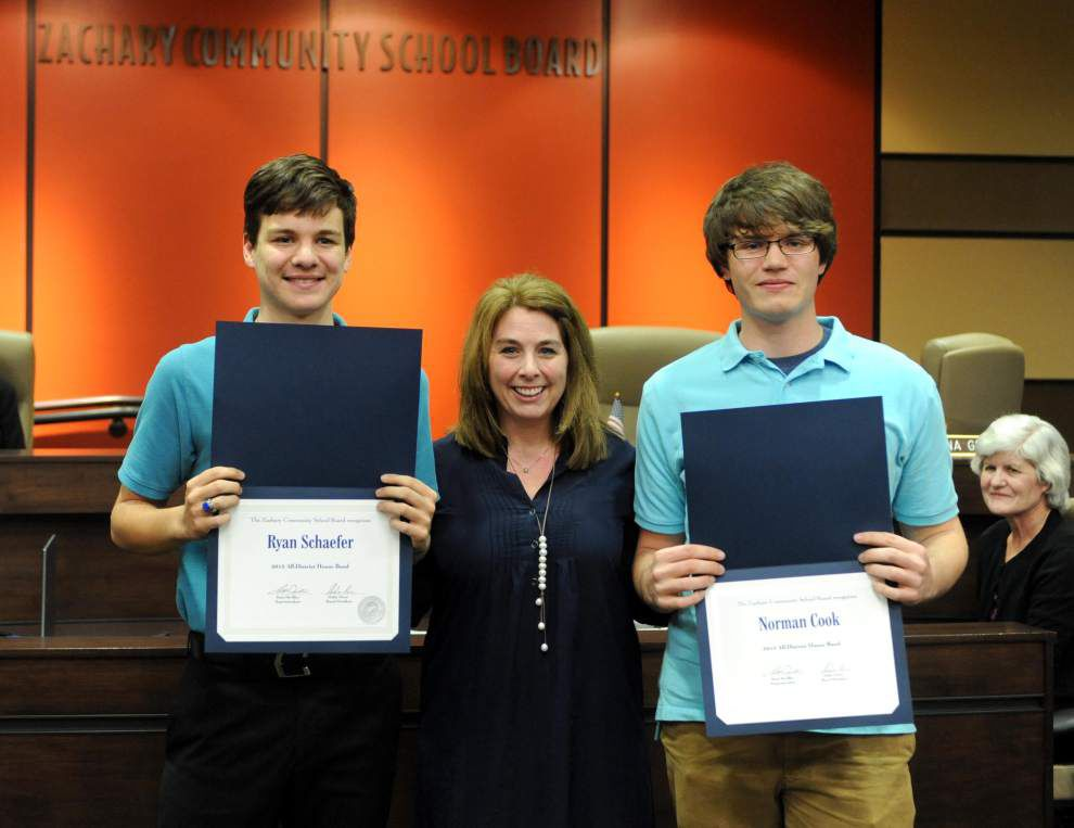 Zachary High band students honored _lowres