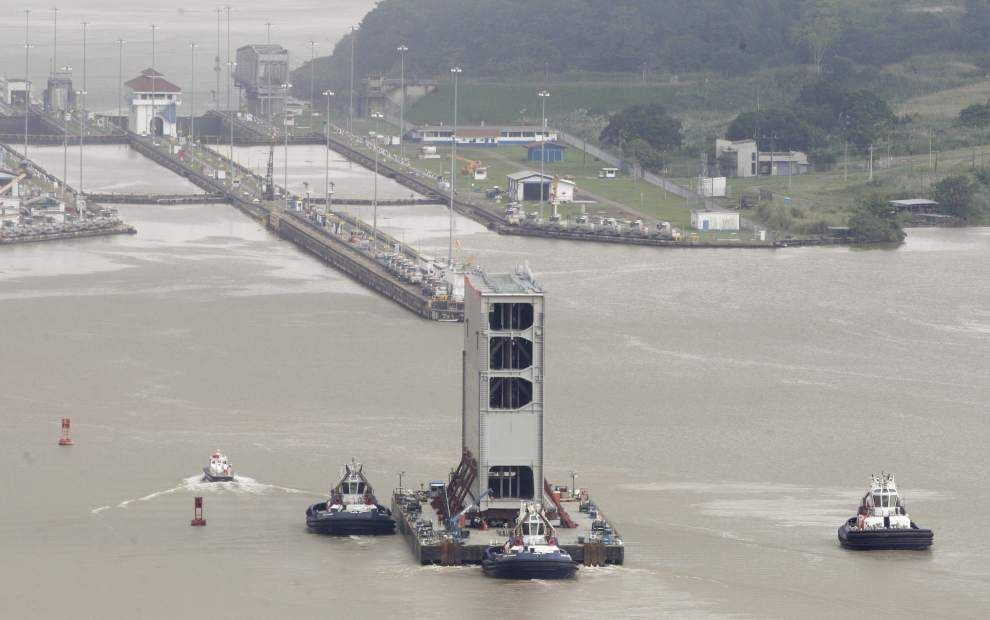 Louisiana business, ports to benefit from Panama Canal expansion _lowres