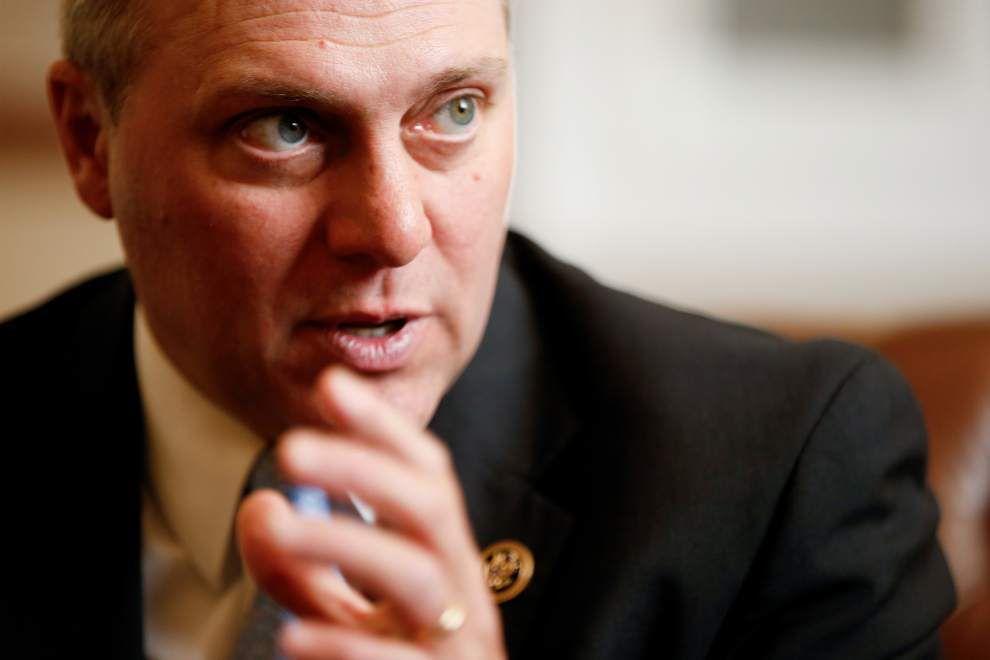 Steve Scalise could be stepping up as House Speaker John Boehner steps down _lowres