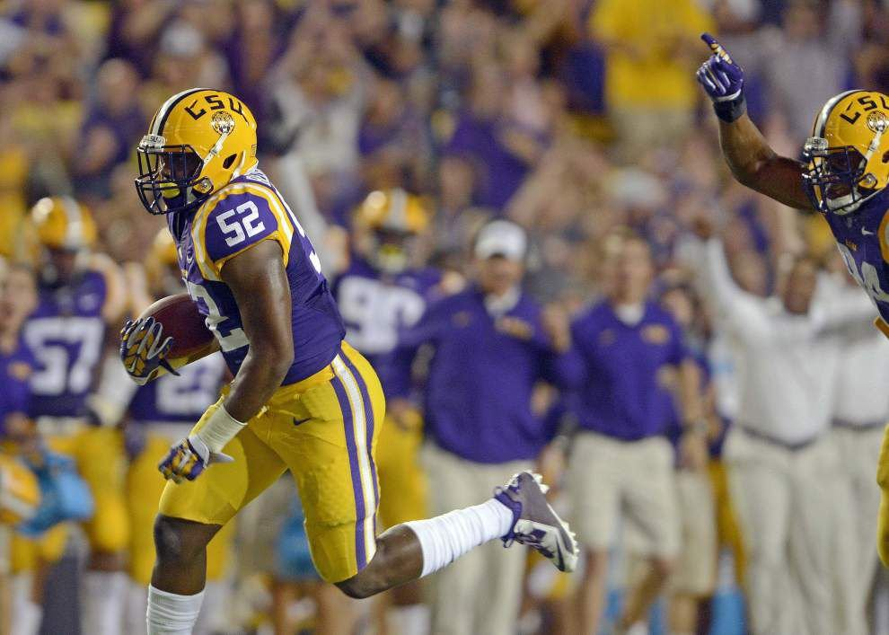 new arrivals 41d7f eab1a LSU's Kendell Beckwith: Defensive star, likely NFL-bound ...