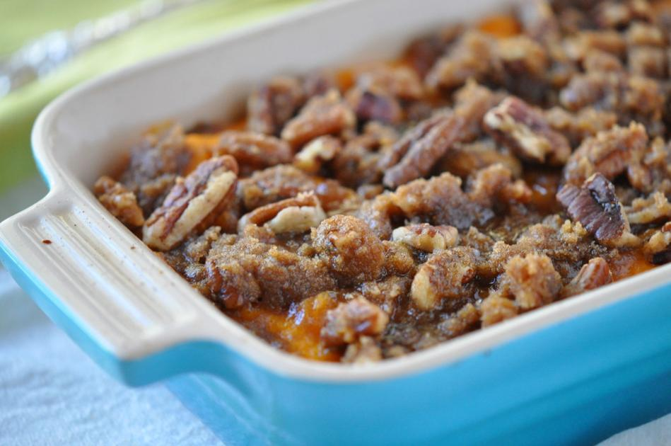 Well Done: Recipe for Sweet Potato Casserole with Praline Topping
