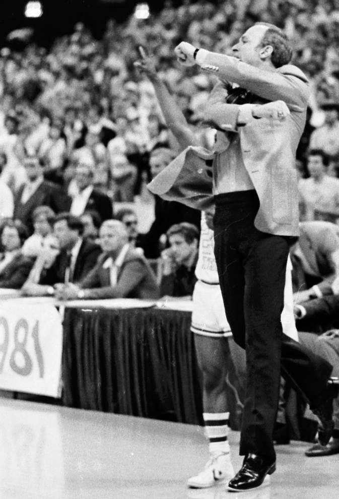 1981 Final Four: LSU basketball program's best team 'had all the pieces' _lowres