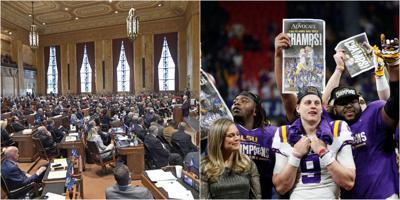 Lawmakers LSU tickets