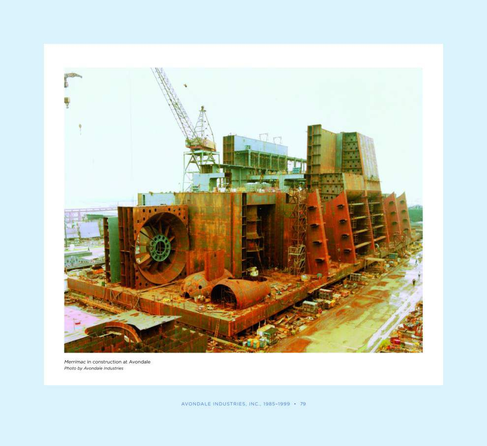 Remembering Avondale: Giant shipyard once the largest employer in the state _lowres