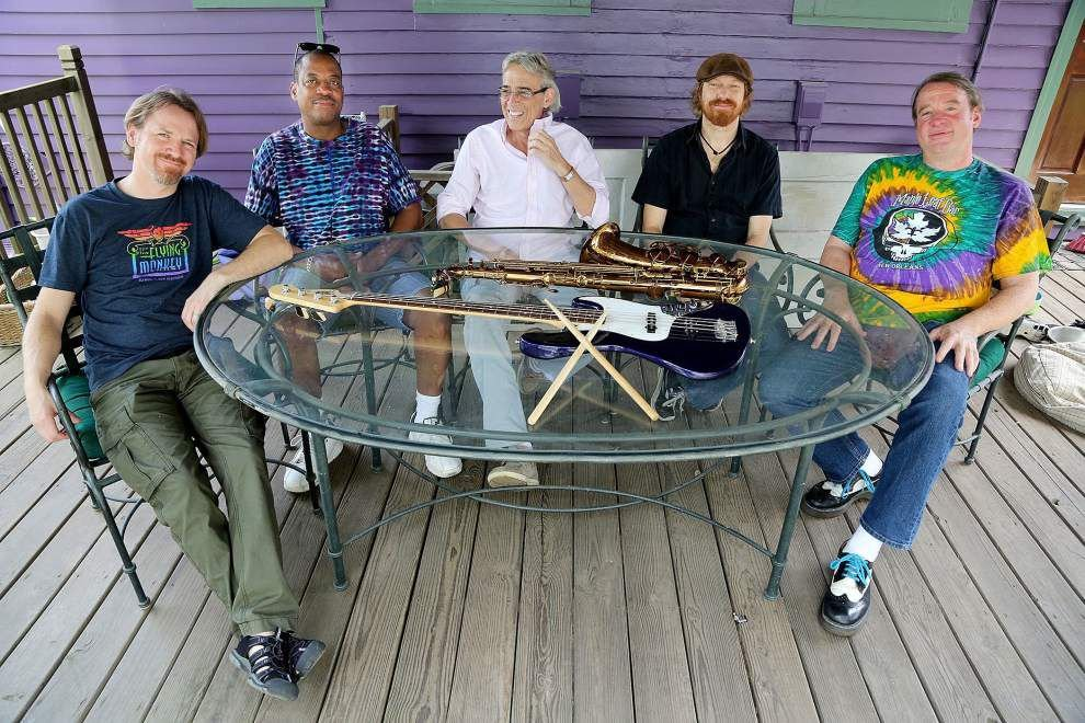 Longtime New Orleans bassist Reggie Scanlan is off the road but not offstage as he battles cancer _lowres