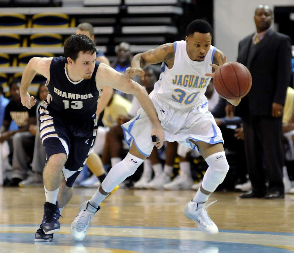 Southern men's basketball team visits Wyoming _lowres
