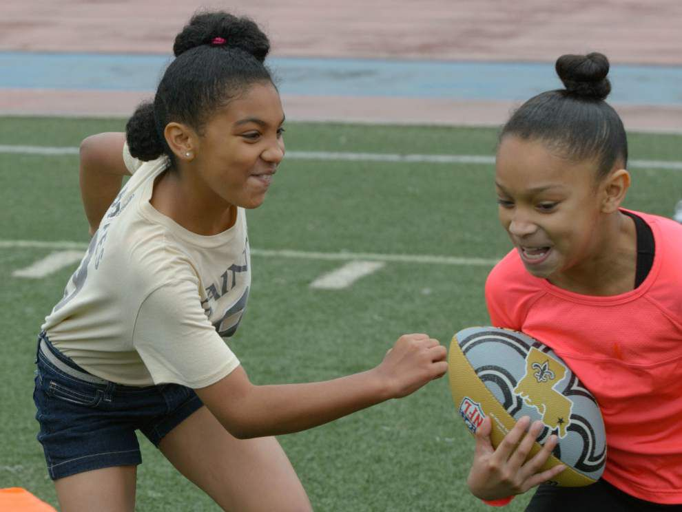 Photos, Video: Keenan Lewis football camp and peace rally _lowres