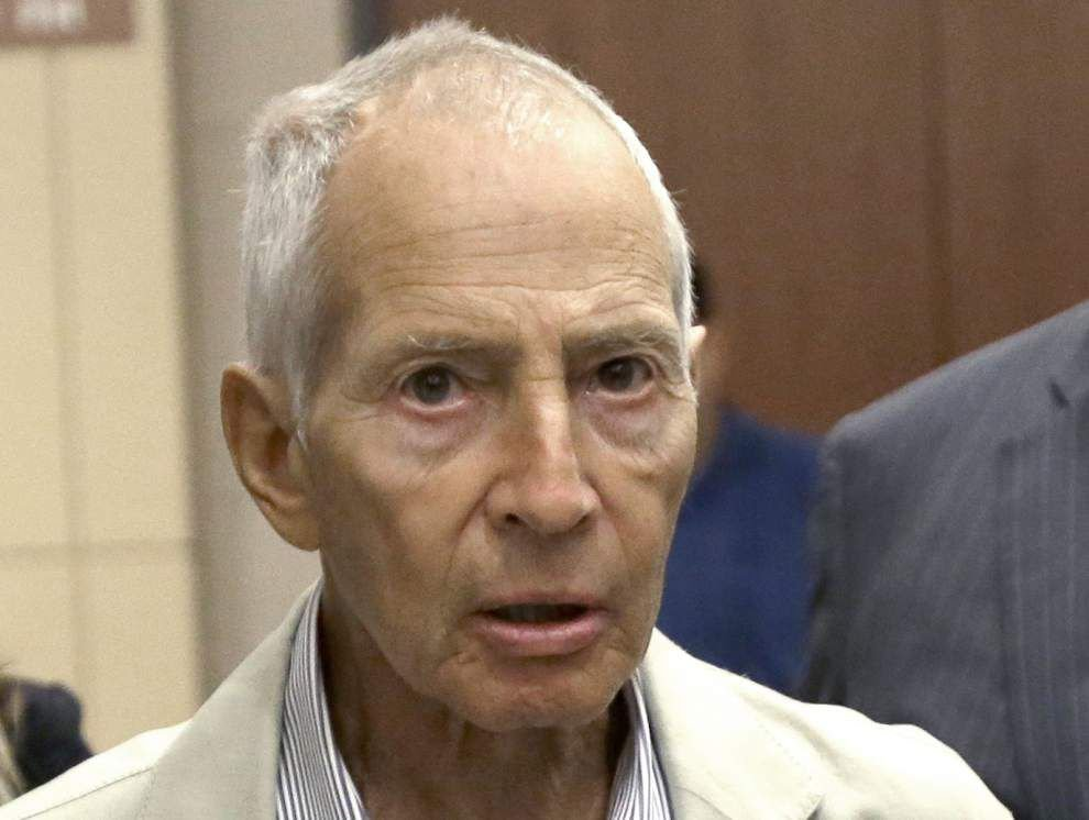 Local firearm charges filed against Robert Durst, could delay his return to California to face a murder charge in Los Angeles _lowres