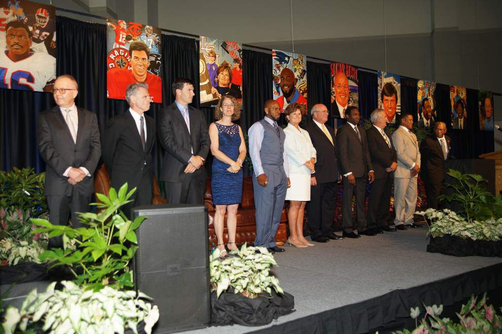 Journey leads to the Louisiana Sports Hall of Fame for prolific 2015 class _lowres