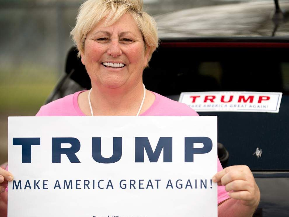 Donald Trump 'saying what we all want to say, but can't say': St. Tammany, Jefferson supporters praise frontrunner _lowres