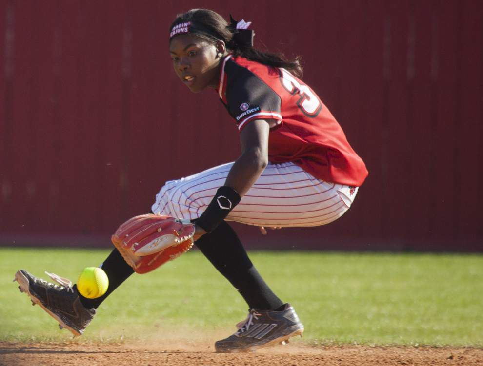 Ragin' Cajuns softball team prep for Troy's tough pitchers _lowres