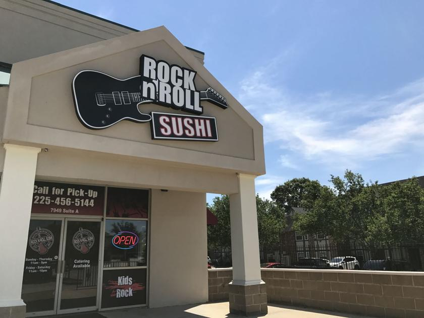 'KISS roll' or 'Pearl Jam roll' sound appetizing? Rock n Roll Sushi now open in Baton Rouge
