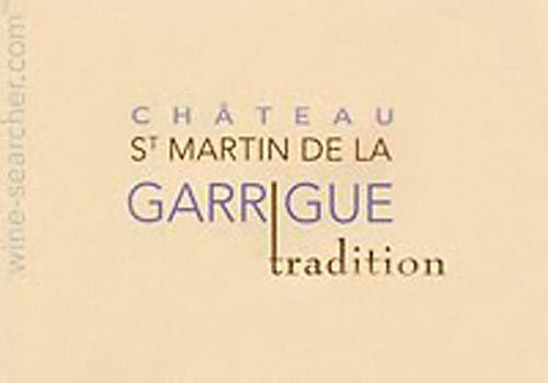 2011 Chateau St. Martin de la Garrigue Tradition Rose_lowres