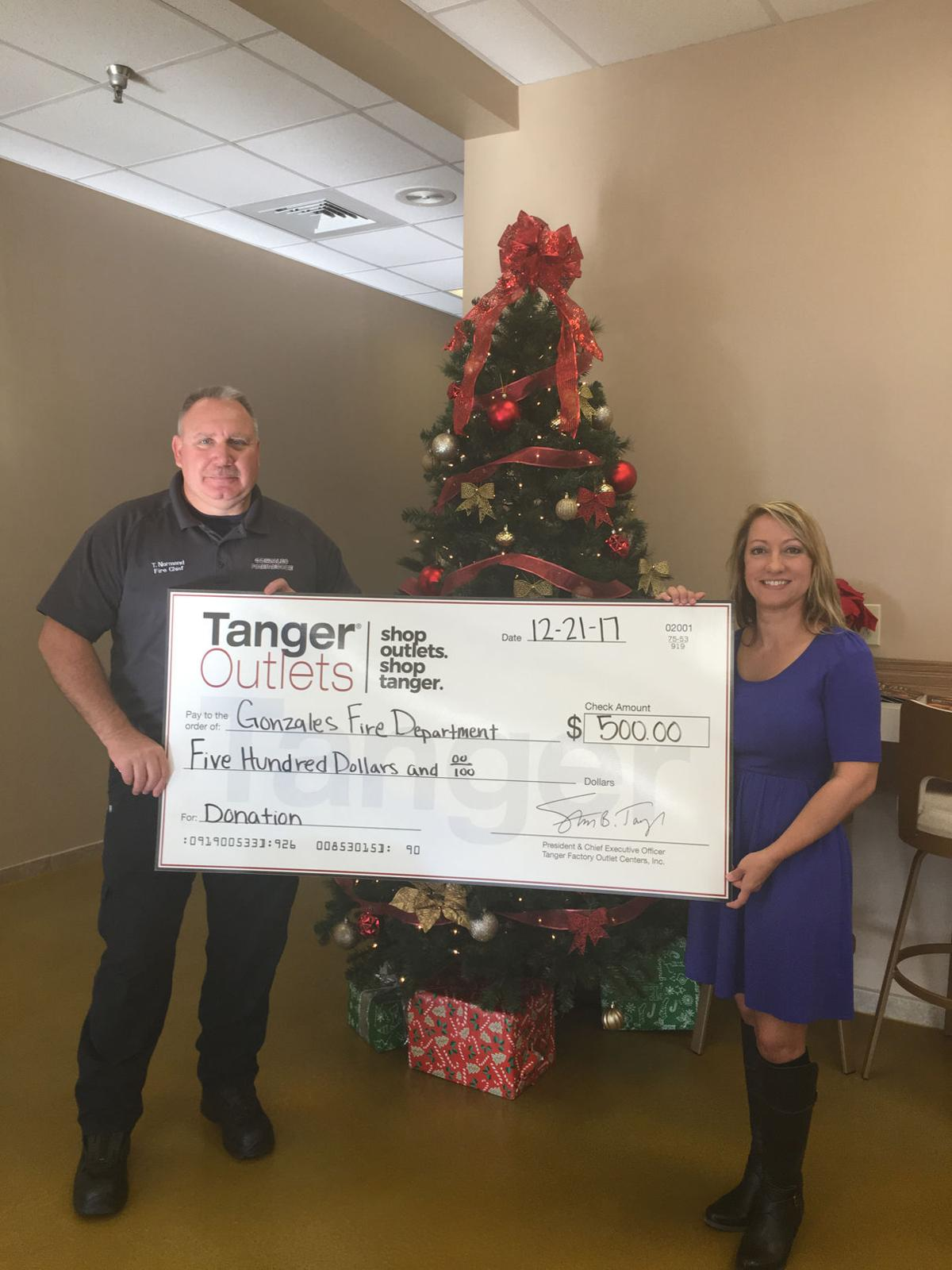Tanger-Gonzales Fire Department Check Presentation.JPG