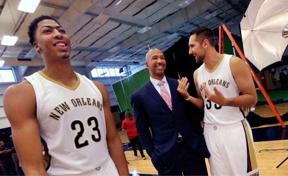 Anthony Davis, Omer Asik expected to be used sparingly as New Orleans Pelicans begin preseason _lowres