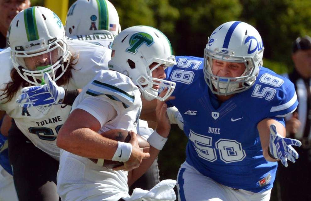 Mistakes stack up as Tulane falls 47-13 at Duke _lowres