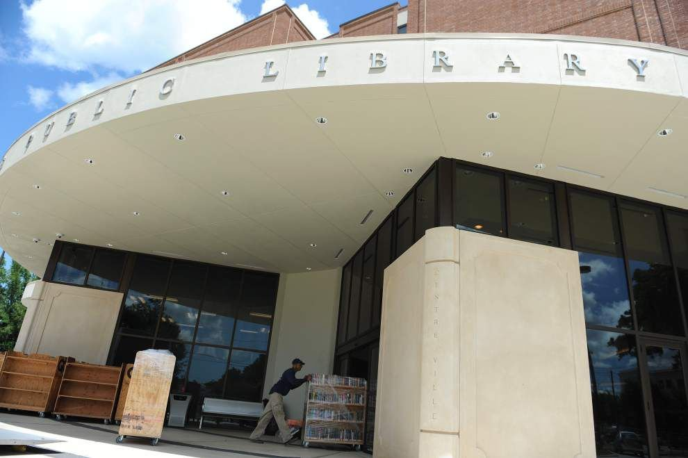 Wait almost over for reopening of renovated downtown library in Lafayette _lowres