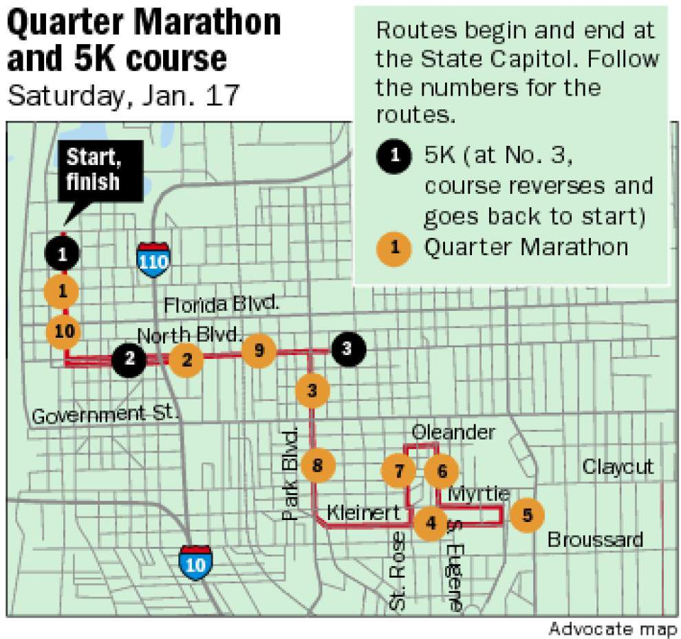 Runners arrive in Baton Rouge in advance of Louisiana Marathon weekend _lowres