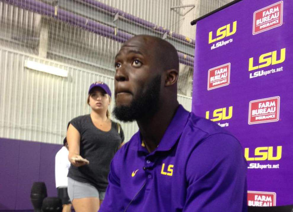 Catching Up With No. 7: Leonard Fournette talks South Carolina flooding, LSU's surprising start _lowres