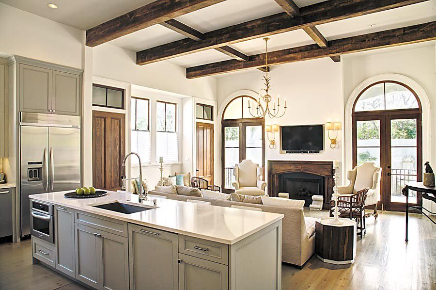 Beau Three Light, Bright And Beautiful New Orleans Kitchens_lowres